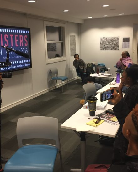 Sisters in Cinema writers room
