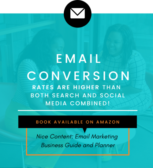 Email has high conversion rates